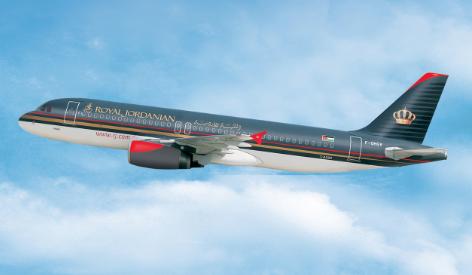 Avion Royal Jordanian Airlines